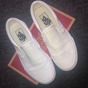 Vans Classic Slip-On True White 6.5US Women